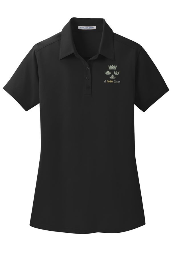 Women's Polo, Black